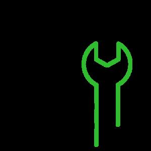 Milbur Plumbing Icon spanner